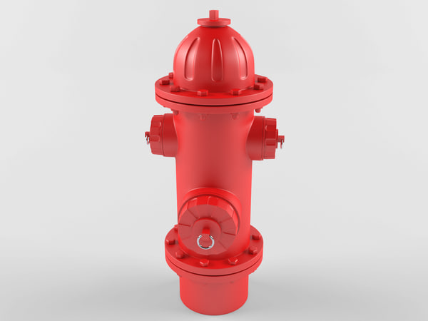 hydrant red model