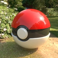 pokemon ball model