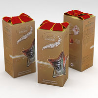 lindt lindor christmas assorted 3D model