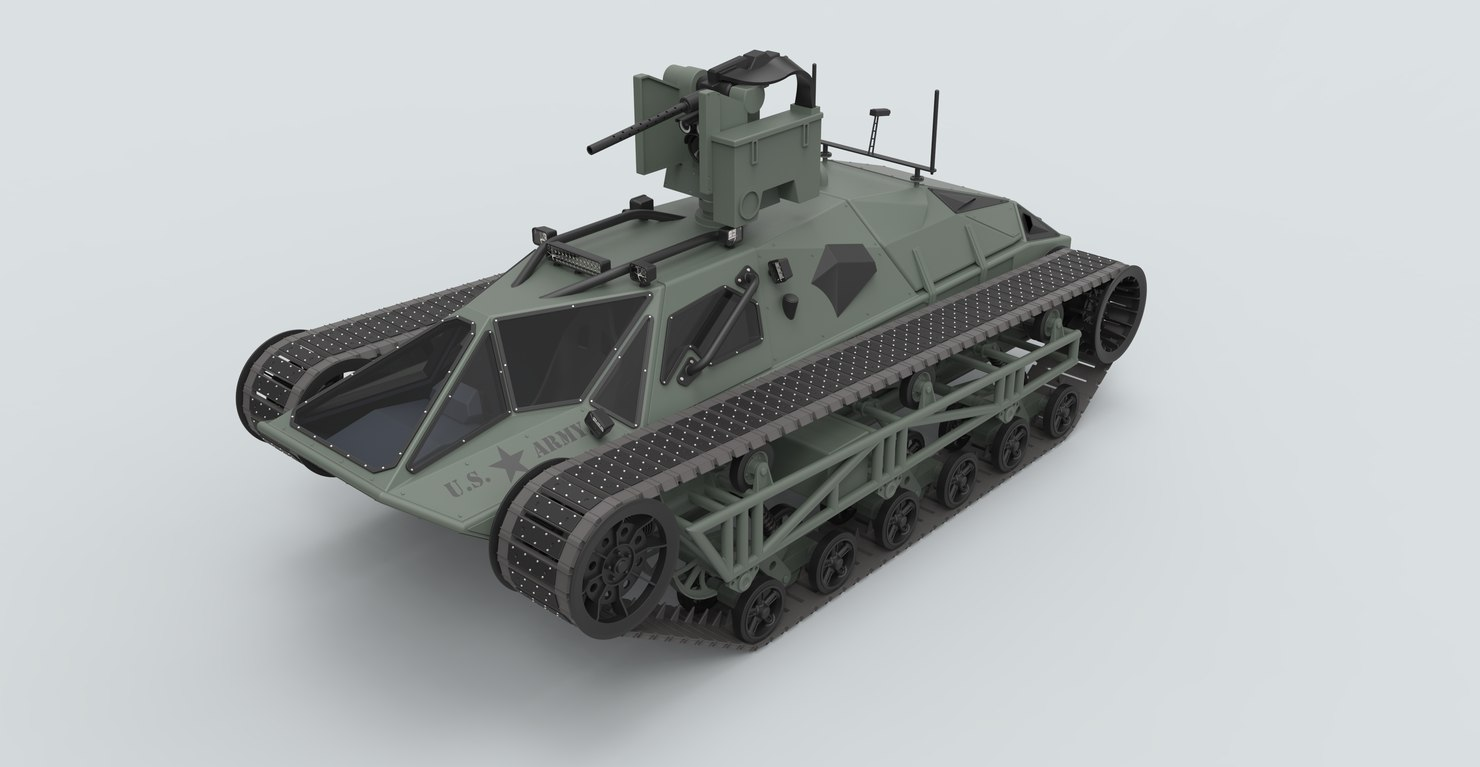 3D ripsaw tank