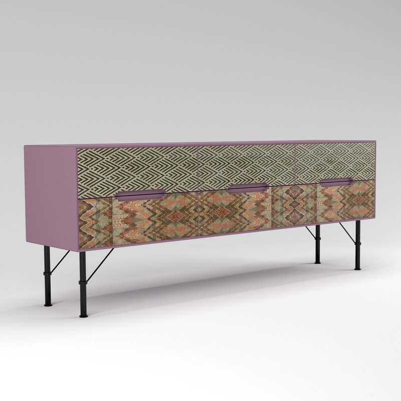 icons sideboard mod 102 3D model
