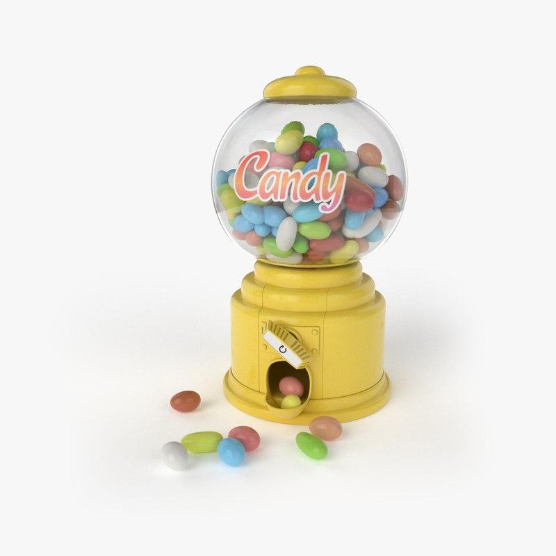 candy machine model
