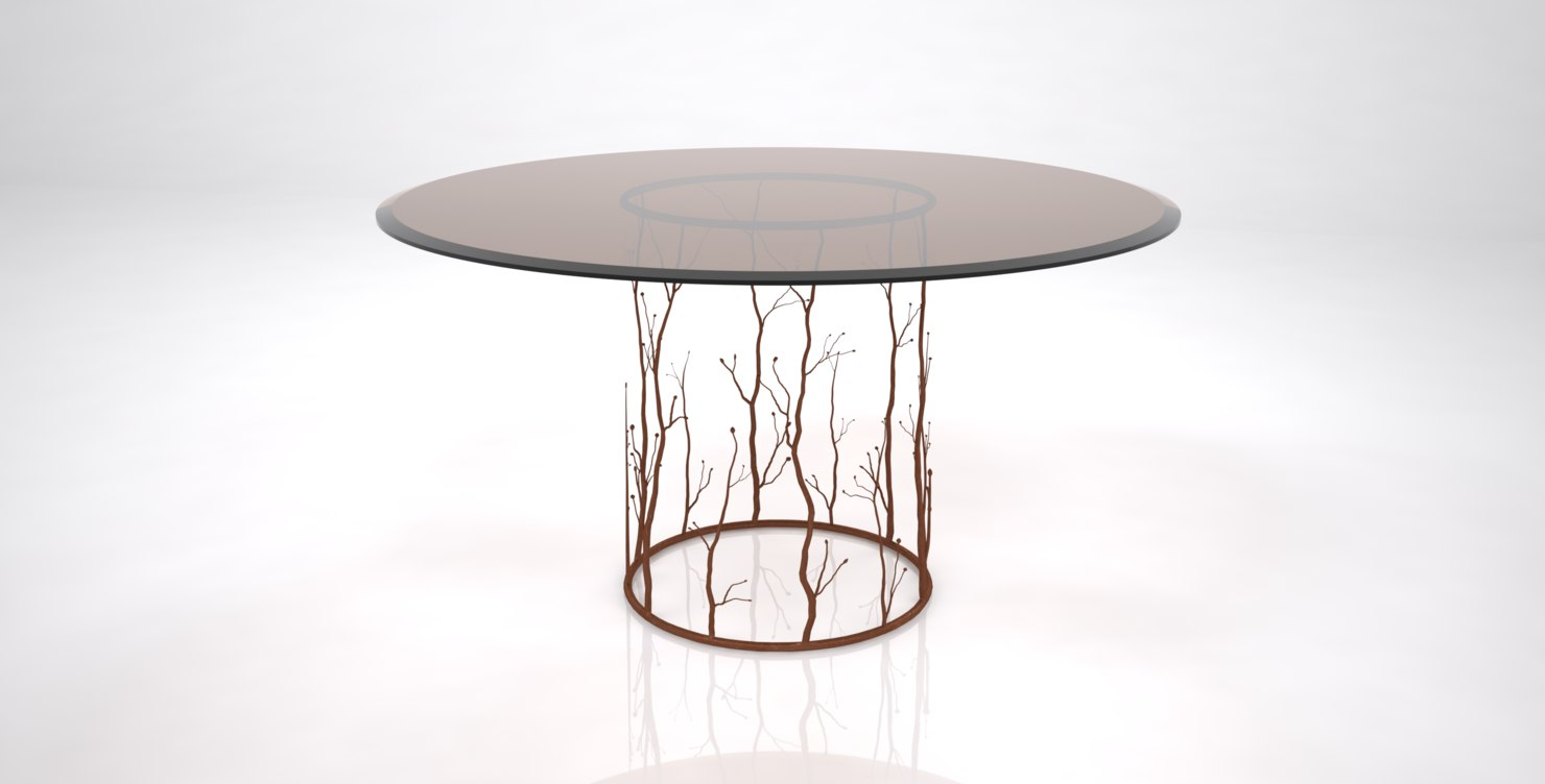 enchanted dining table 3D model