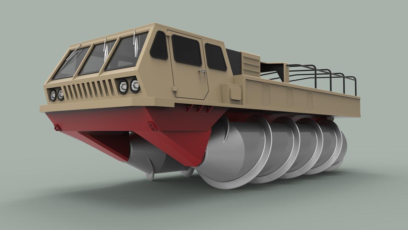 vehicle screw 3D