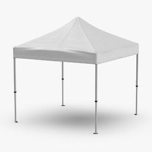 10x10-tent 3D model