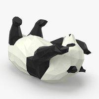 3D panda---rolling model