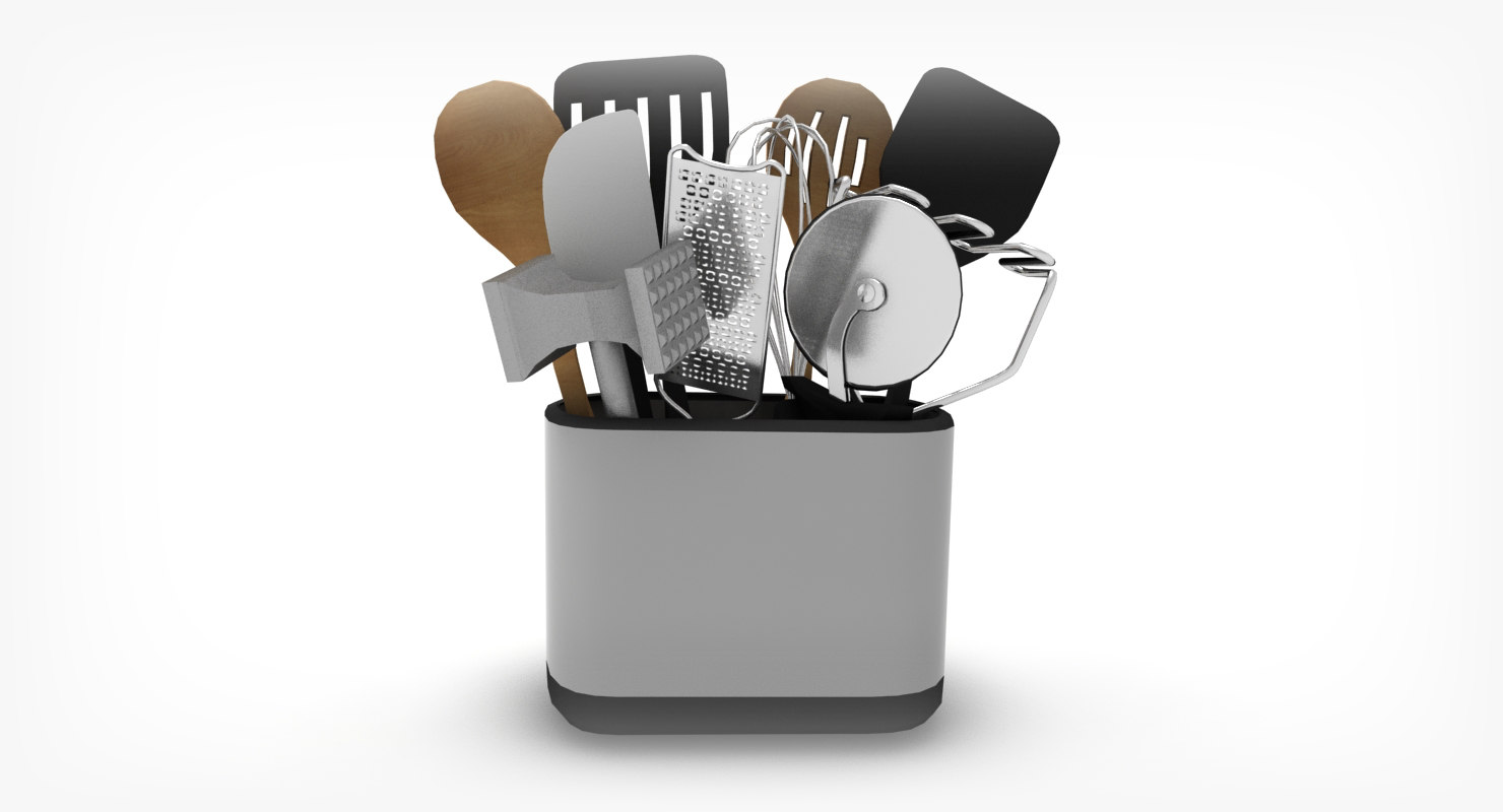 kitchen tools set model