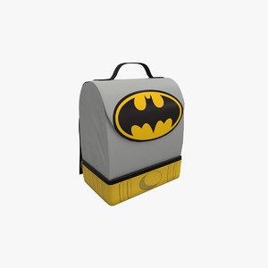 3D lunch box model