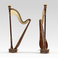 harp 3D model