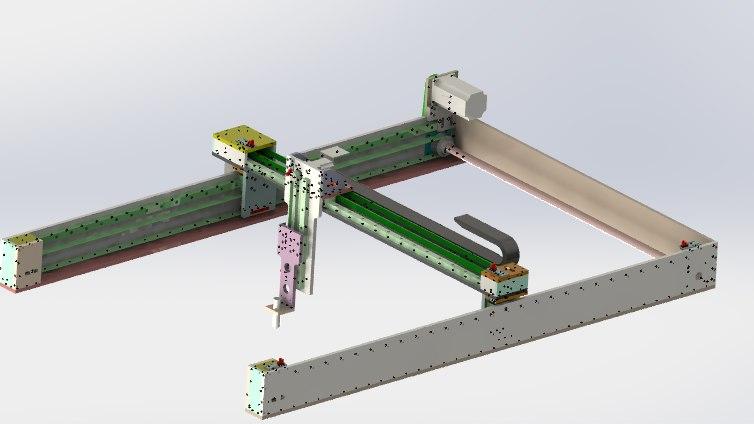 3D gantry manipulator