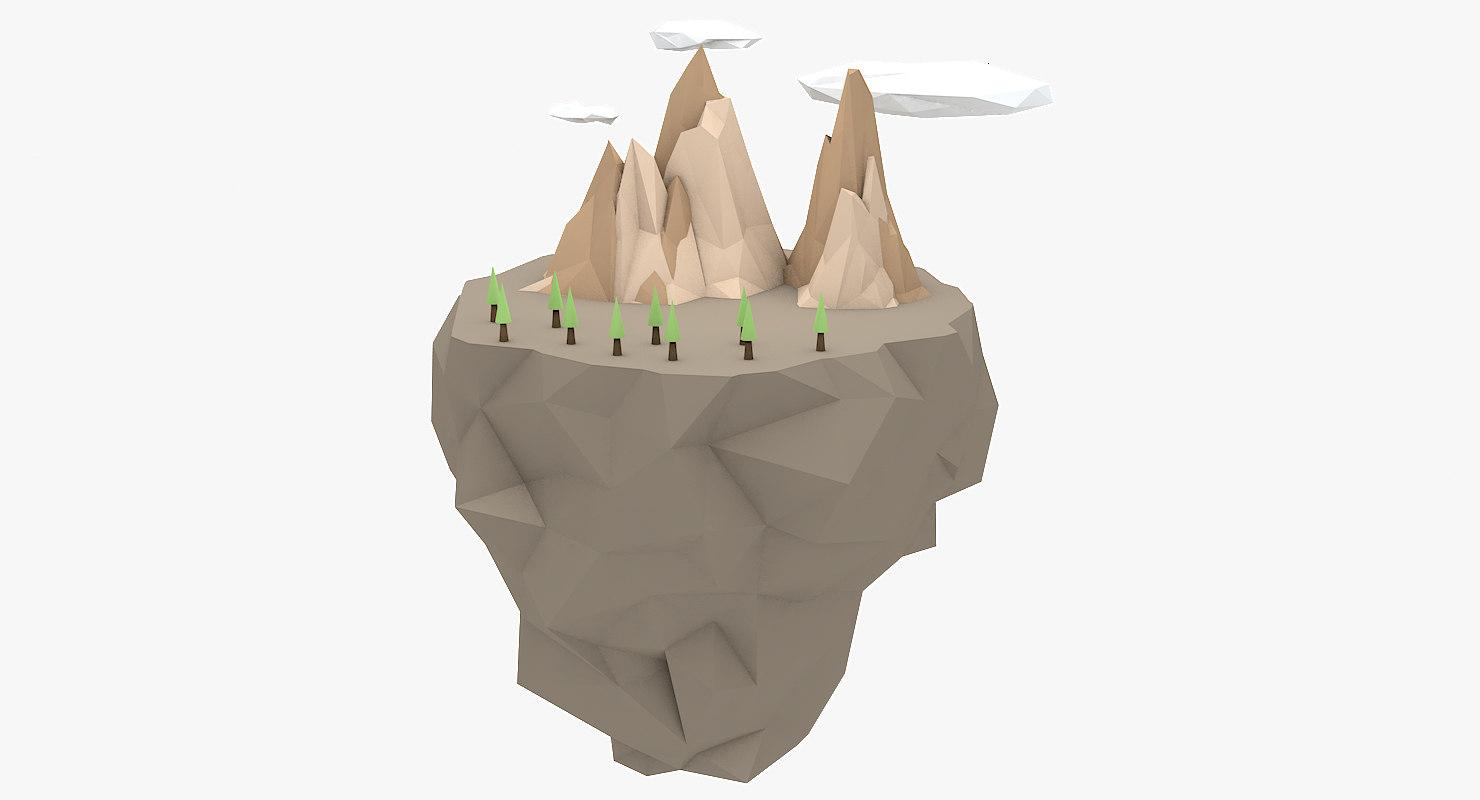 floating island model