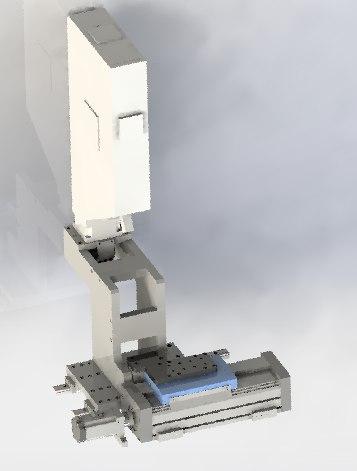 overloading transverse load 3D model