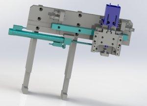 3D xz axial pneumatic manipulator