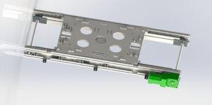 3D conveyor belt chain