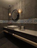 3D interior restroom model