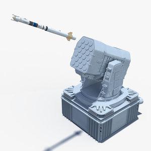 mk-49 gmls rim-116 rolling 3D