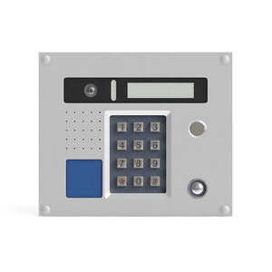 3D external intercom model