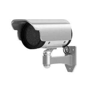 security camera 3D