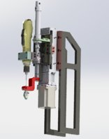 locking screw mechanism 3D model