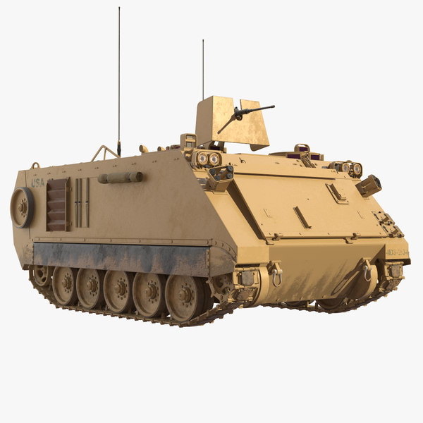 armoured personnel carrier m113 model