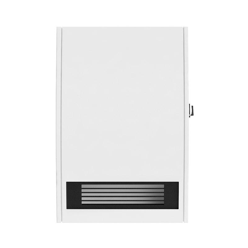 3D model wall air heater