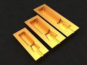 3D screwdriver mold hand model