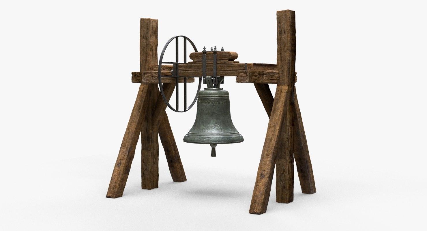 church bell support 3D