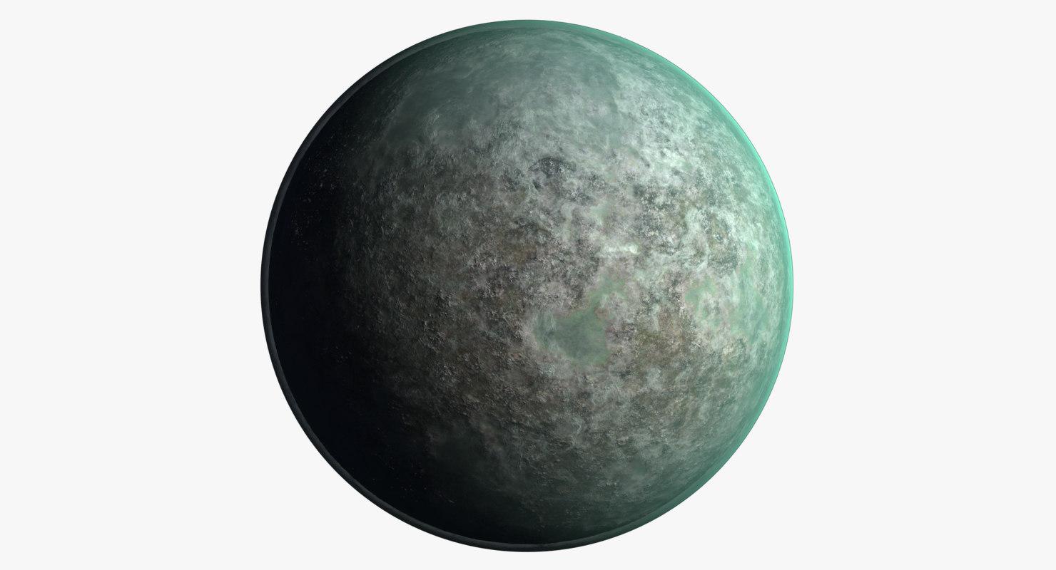 space planet 3D model