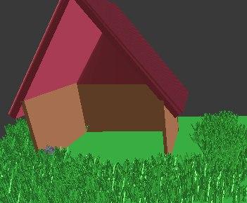 3D house dog model