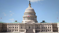 united states capitol 3D model