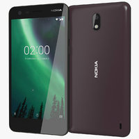 Nokia 2 Pewter/Copper Black