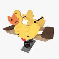 Playground Spring - Duck