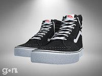 skate shoes 3D