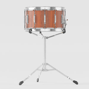 realistic small orchestra drum 3D model