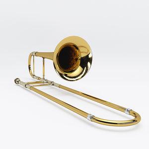 3D trombone