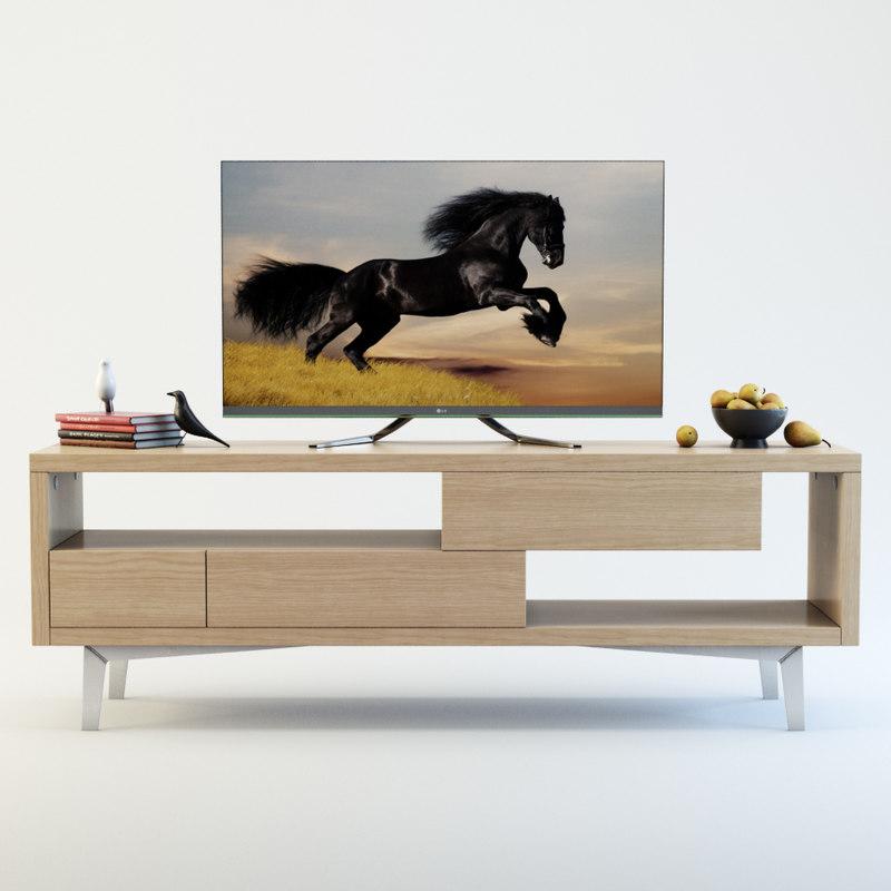 tv furniture 3D model