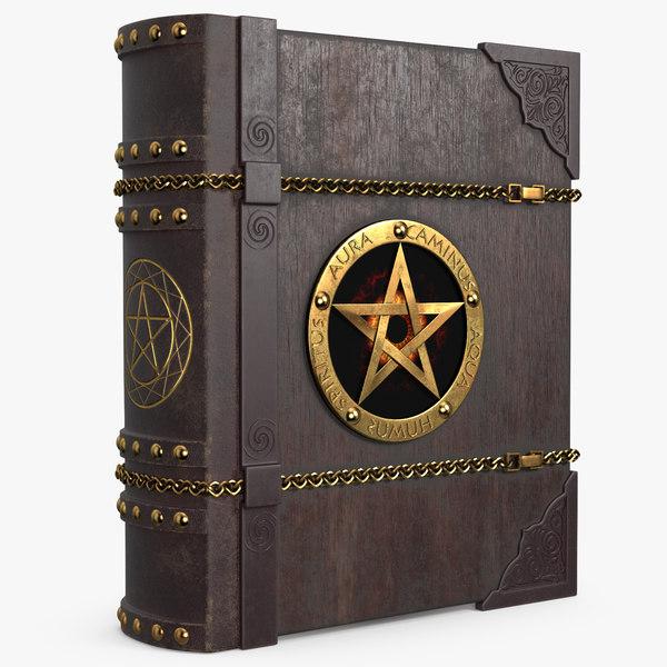3D book 005 model