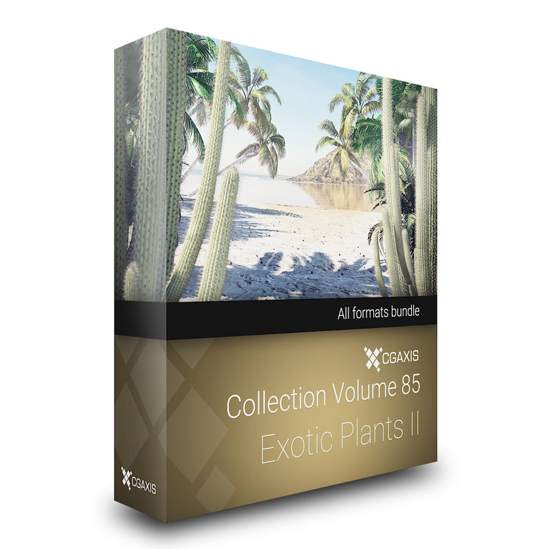3D volume 85 exotic plants