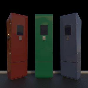 subdivision blender 3D model