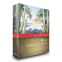 CGAxis Models Volume 85 Exotic Plants II VRay
