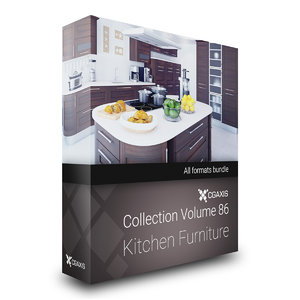 volume 86 kitchen furniture 3D model