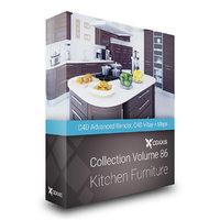 volume 86 kitchen furniture 3D model