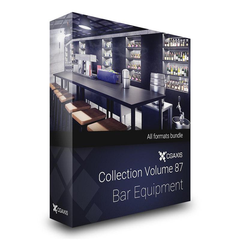 3D volume 87 bar equipment model
