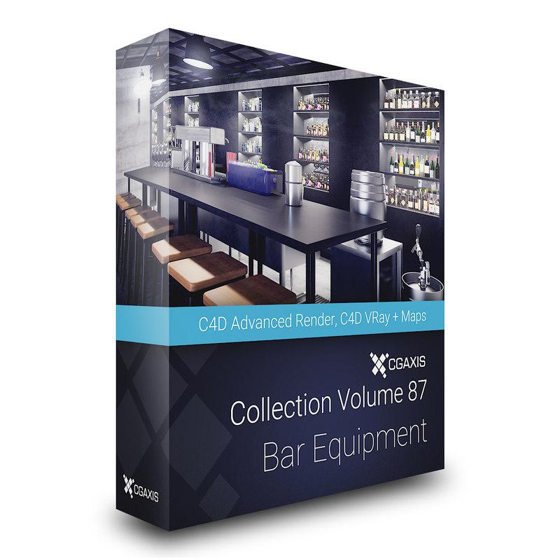 volume 87 bar equipment 3D