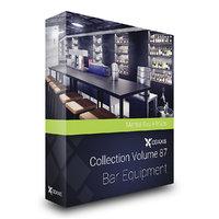 3D model volume 87 bar equipment