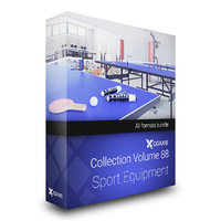 Sport Equipment 3D Models Collection  Volume 88
