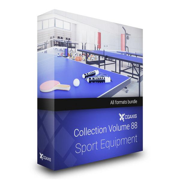 sport equipment volume 88 3D model