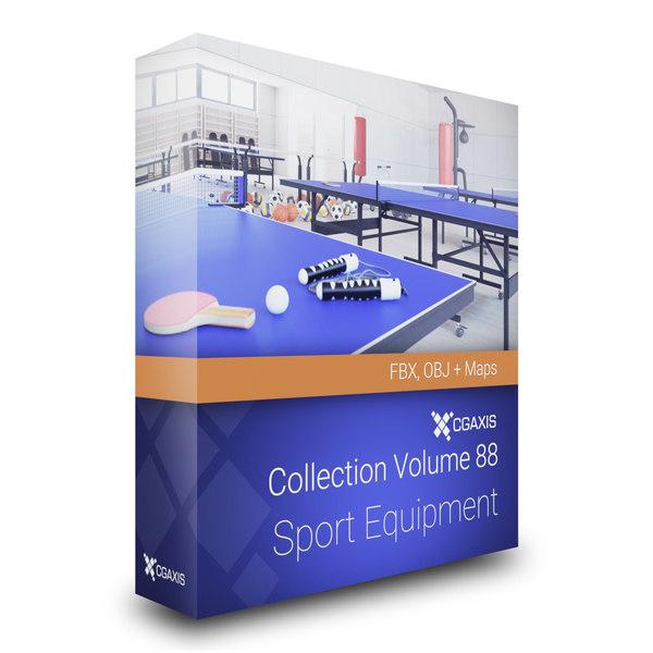 3D sport equipment volume 88