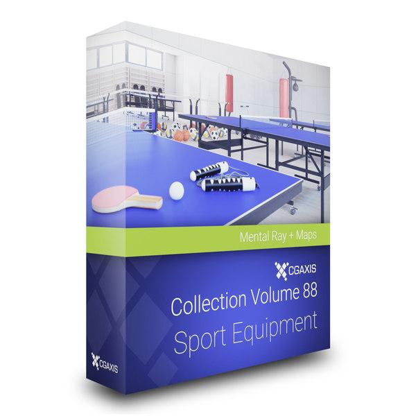 sport equipment volume 88 3D