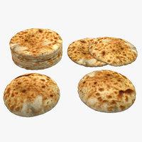 realistic bread - 3D